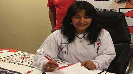 Amenazan a candidata al congreso por Alianza Popular