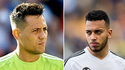 YouTube: Diego Alves y Rubén Vezo casi se pelean en práctica del Valencia