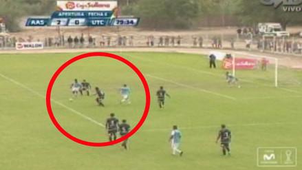 YouTube: Alianza Atlético ganó a UTC con un brillante gol de 'tiqui-taca'