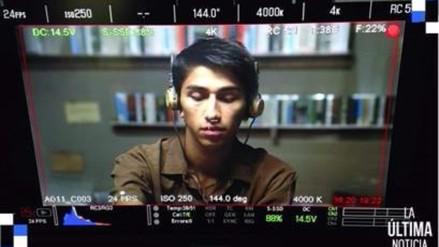 Daniel Lazo hace su debut en el cine con 'La última noticia'