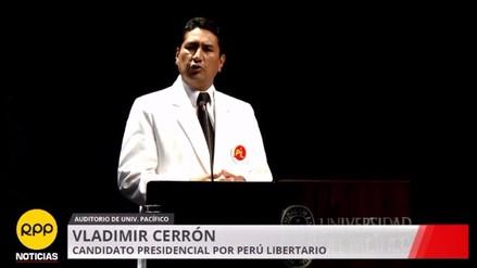 Cerrón plantea que regiones aprueben zonificación económica y ecológica