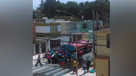 Arequipa: reportan falta de agua en inicios de clases escolares
