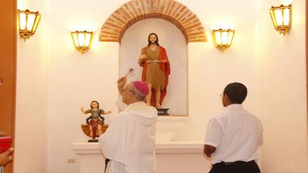 Lambayeque: baptisterio de la capilla ´San Francisco´ fue bendecido