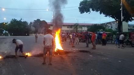 Mototaxistas y motociclistas acatan un paro de 24 horas en Iquitos