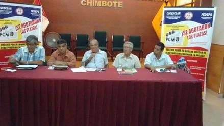 Chimbote: sociedad civil anuncia movilización contra gobierno central