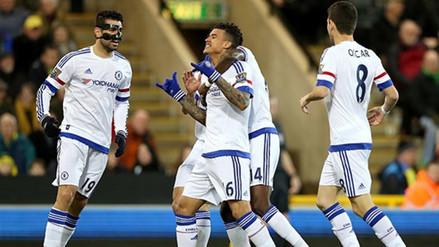 YouTube: Chelsea venció 2-1 al Norwich y retoma el paso en la Premier League