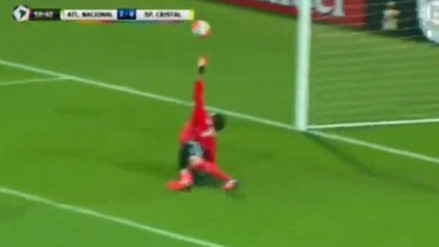 Atlético Nacional vs. Sporting Cristal: la tapada espectacular de Diego Penny