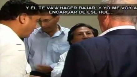 Alejandro Toledo sobre Carlos Bruce: