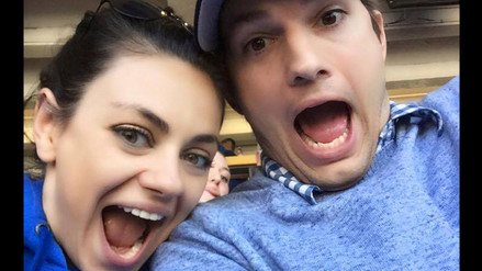 Ashton Kutcher reveló boda secreta con Mila Kunis