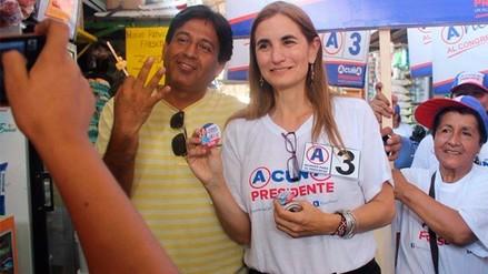 Anel Townsend renunció a lista al Congreso de César Acuña