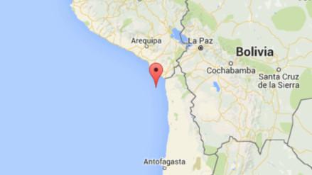 Dos sismos se registraron esta mañana en Tacna
