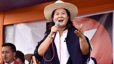 """Keiko Fujimori: """"Proyecto Conga no se puede dar por ahora"""""""