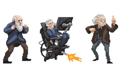 'Science Kombat', el videojuego protagonizado por destacados científicos