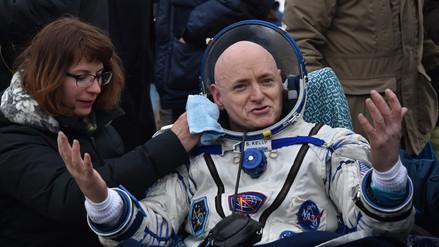 Astronauta regresó a la Tierra tras un año en el espacio... sin bañarse [FOTOS]
