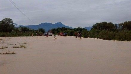 Crecida de quebrada Chiclayo – Chota podría dejar incomunicadas poblaciones