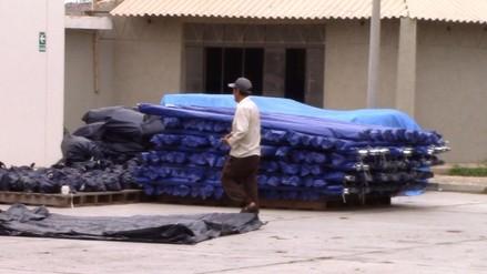 """Llegan 200 carpas al Coer para posibles damnificados de """"El Niño"""""""