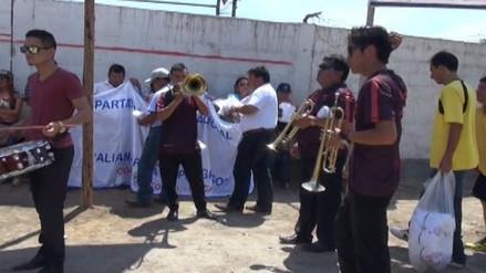 Ascope: alcalde realiza proselitismo político en visita de Cesar Acuña