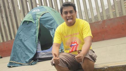 The Rolling Stones: fans acampan a las afueras del estadio Monumental