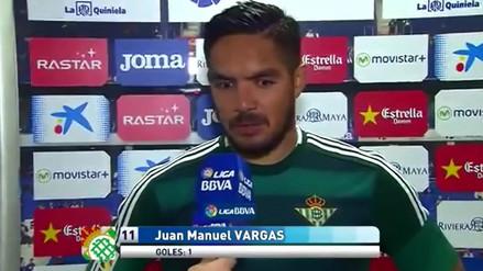 YouTube: Juan Vargas y sus declaraciones tras el golazo que le marcó al Espanyol