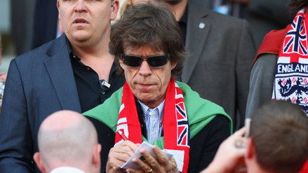 The Rolling Stones: Mick Jagger fue el 'salado' del Mundial Sudáfrica 2010