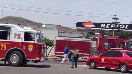 Osinergmin suspende registros de grifo tras explosión en el Callao