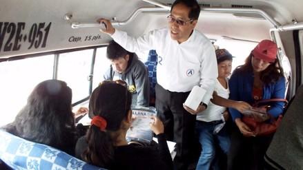 Huancayo: candidatos de APP marca distancia de Cesar Acuña