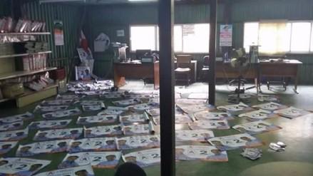 """JEECh se pronuncia por """"aparición"""" de propaganda electoral en local edil"""