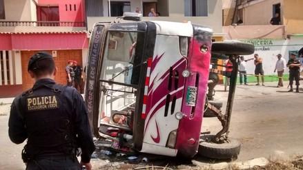 Trujillo: chofer causa muerte de su hijo en accidente