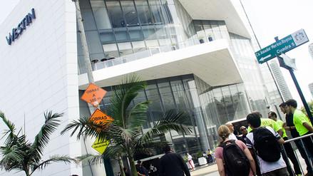 The Rolling Stones: así se vive el ambiente en los exteriores de su hotel