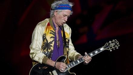 Rolling Stones: Keith Richards comparte en Instagram su primera foto en Lima