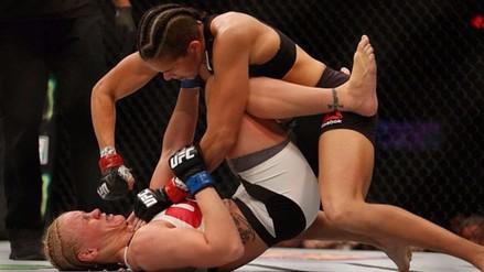 UFC 196: Valentina Shevchenko no pudo ante la brasileña Amanda Nunes