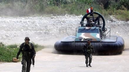 Vraem: desaparece en río Ene sargento de las Fuerzas Armadas del Perú