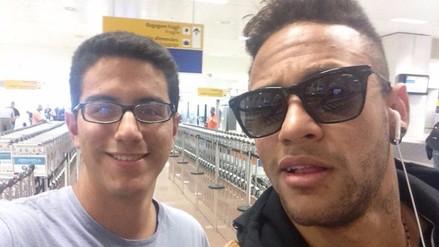 Barcelona: seguidores de RPP comparten fotos con Neymar en Sao Paulo