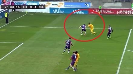 Barcelona vs. Eibar: Luis Suárez marcó golazo que lo dejó a uno de Cristiano