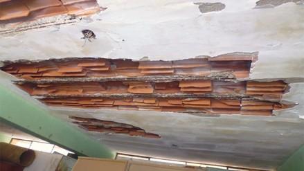 Pachacamac: colegio deteriorado a una semana de inicio de clases