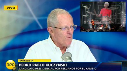 The Rolling Stones invitaron a PPK a tocar el flautín en concierto