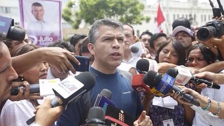 Todos por el Perú presentó apelación a fallo contra Julio Guzmán