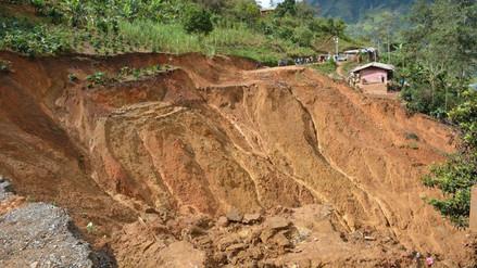 Vía Santa Cruz – Chiclayo quedó interrumpida por deslizamientos