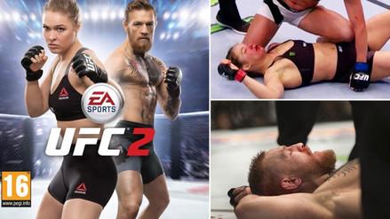 Ronda Rousey y Conor McGregor serán portada de videojuego pese a las derrotas