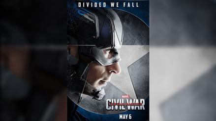 Capitán América Civil War: revelan posters del 'Team Cap'