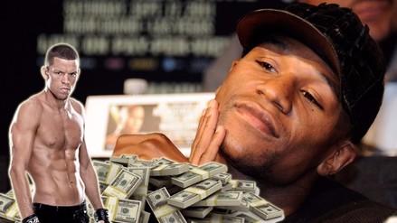 Floyd Mayweather regaló 1 millón de dólares a Nate Díaz por vencer a McGregor