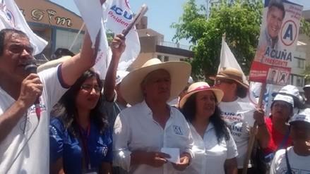 """Virgilio Acuña: """"somos una raza limpia y honesta"""""""
