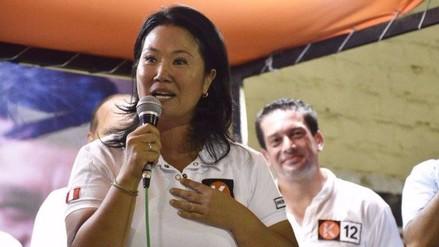 """Keiko Fujimori: """"Alejandro Toledo está nervioso por las encuestas"""""""