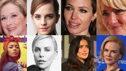 8 famosas que defienden la igualdad de género y los derechos de la mujer
