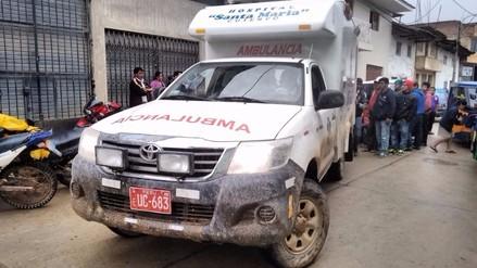 Alcalde de Cutervo fue trasladado de emergencia a Chiclayo