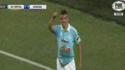Sporting Cristal vs. Huracán: Gabriel Costa abrió la cuenta en el Estadio Nacional