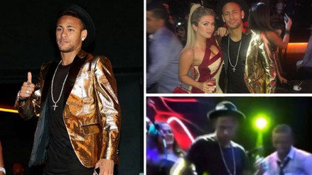 YouTube: Neymar y su show aparte en el cumpleaños de su hermana Rafaella