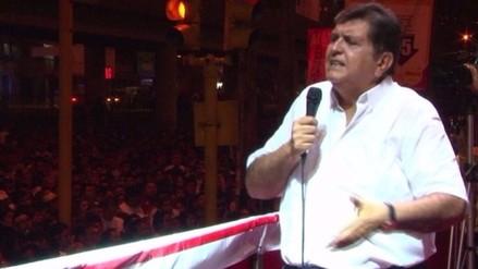 Anuncian llegada de Alan García a capital de la fe, Otuzco