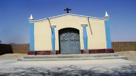 Lambayeque: instalan cantina en capilla de Quemazón en Mórrope
