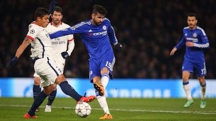 Chelsea vs. PSG: Diego Costa 'rompió' a Thiago Silva y marcó este golazo